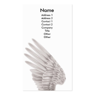 Angel wing Double-Sided standard business cards (Pack of 100)
