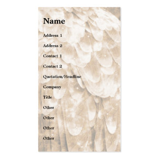 Angel Wing! Double-Sided Standard Business Cards (Pack Of 100)