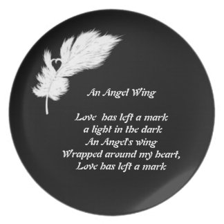 angel wing plate