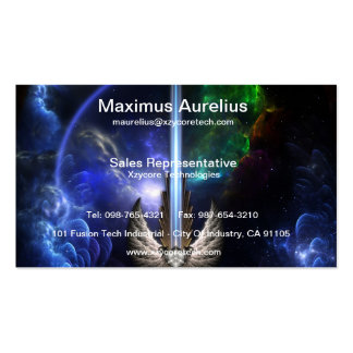 Angel Wing Sword Of Arkledious Space Business Card
