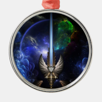 Angel Wing Sword Of Arkledious Space Premium Ornam Christmas Tree Ornaments