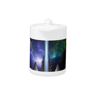 Angel Wing Sword Of Arkledious Space Tea Pot