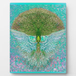 Angel Wing Tree of Life Display Plaques