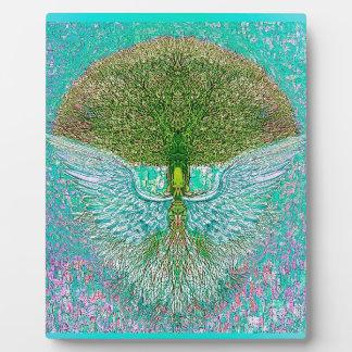 Angel Wing Tree of Life Plaque