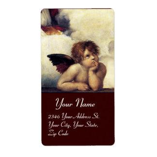ANGEL / Winged Cherub Label