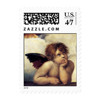 ANGEL / Winged Cherub Postage