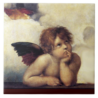 ANGEL / Winged Cherub Tile
