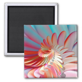 Angel Wings 2 Inch Square Magnet