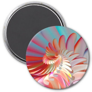 Angel Wings 3 Inch Round Magnet