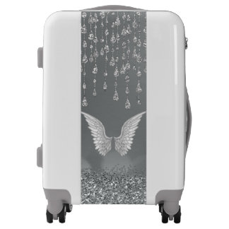 Angel Wings and Blessings Luggage