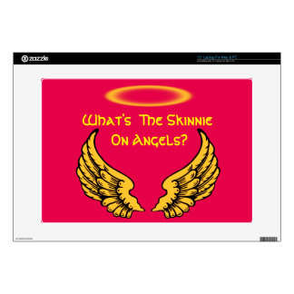 """Angel Wings and Halos Customize Skin For 15"""" Laptop"""