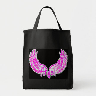 Angel Wings - Angelic Grocery/Storage Tote Bag