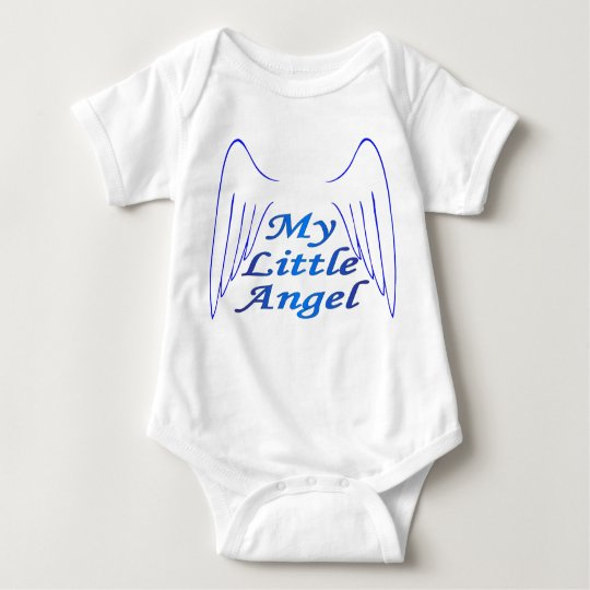 Angel Wings Baby Bodysuit