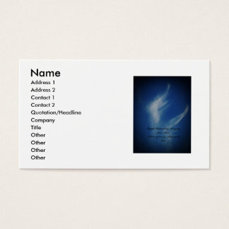 Angel Wings Business Card