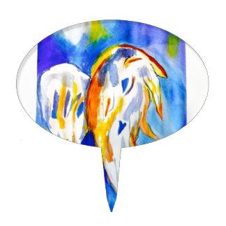 Angel Wings Cake Topper