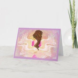Angel Wings Card card