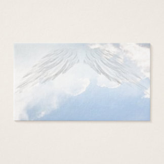 Angel Wings Christian Spiritual Business Cards