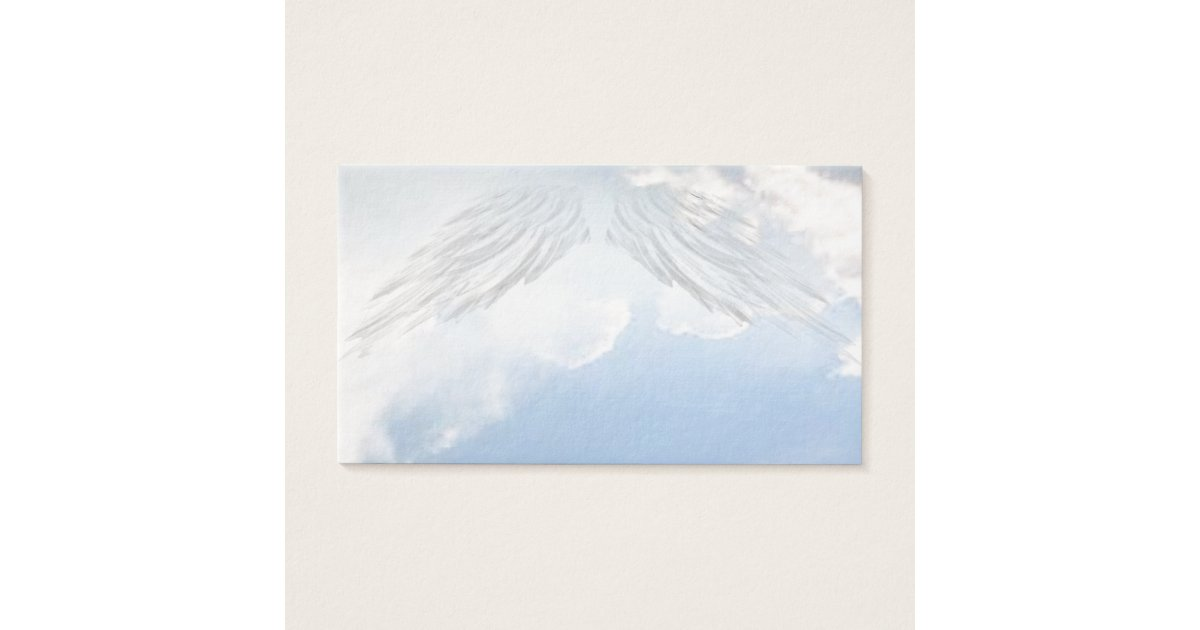 Angel Wings Christian Spiritual Business Cards | Zazzle.com