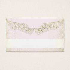 Angel Wings,christian,spiritual,business Cards at Zazzle