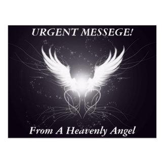 Angel Wings! - Designer Postcard