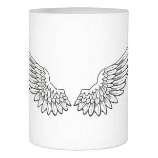 angel wings for you flameless candle