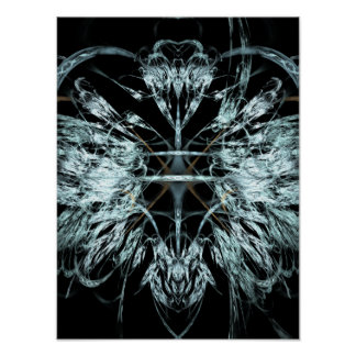Angel Wings Fractal Poster