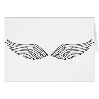 Angel Wings Greeting Card