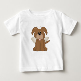 Angel Wings Halo Puppy Dog 2 Baby T-Shirt