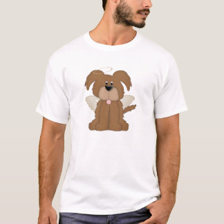 Angel Wings Halo Puppy Dog 2 T-Shirt