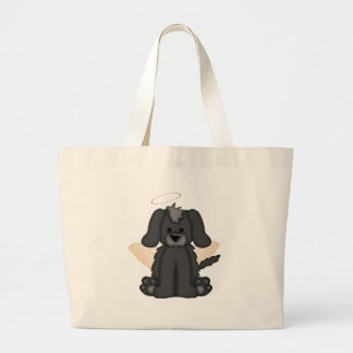 Angel Wings Halo Puppy Dog 3 Tote Bag