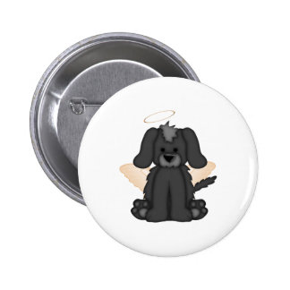 Angel Wings Halo Puppy Dog 3 Pins