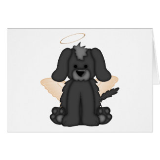 Angel Wings Halo Puppy Dog 3 Cards