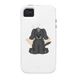 Angel Wings Halo Puppy Dog 3 iPhone 4/4S Case