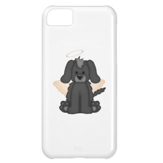 Angel Wings Halo Puppy Dog 3 Cover For iPhone 5C