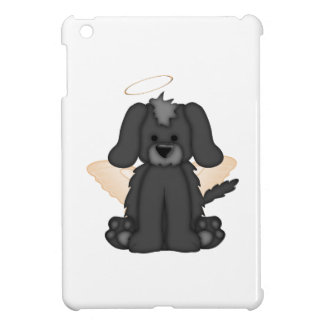 Angel Wings Halo Puppy Dog 3 iPad Mini Cover