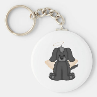 Angel Wings Halo Puppy Dog 3 Key Chains