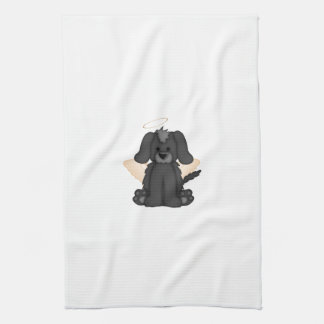 Angel Wings Halo Puppy Dog 3 Towel