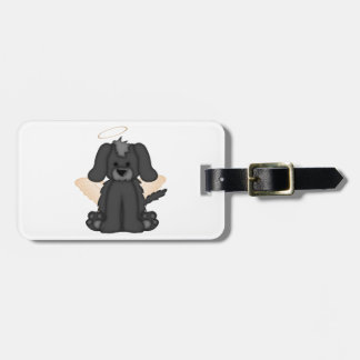 Angel Wings Halo Puppy Dog 3 Tags For Bags