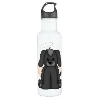 Angel Wings Halo Puppy Dog 3 24oz Water Bottle