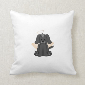 Angel Wings Halo Puppy Dog 3 Pillows