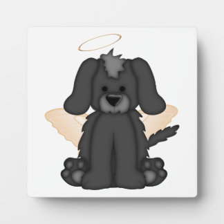 Angel Wings Halo Puppy Dog 3 Display Plaques