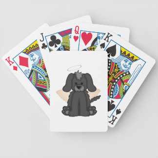 Angel Wings Halo Puppy Dog 3 Bicycle Poker Cards