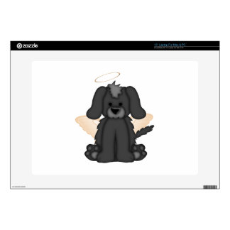 """Angel Wings Halo Puppy Dog 3 Decal For 15"""" Laptop"""