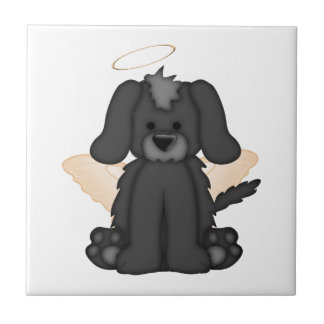 Angel Wings Halo Puppy Dog 3 Tiles
