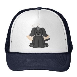 Angel Wings Halo Puppy Dog 3 Trucker Hat