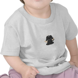 Angel Wings Halo Puppy Dog 3 T Shirts