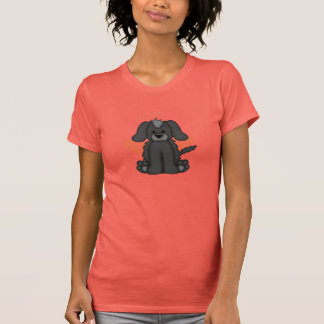 Angel Wings Halo Puppy Dog 3 T Shirt