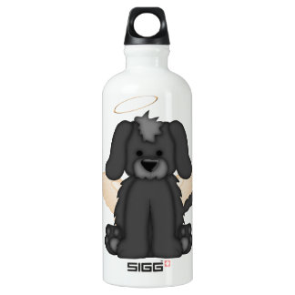 Angel Wings Halo Puppy Dog 3 Water Bottle