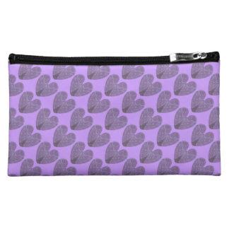 Angel Wings Heart Medium Cosmetic Bag