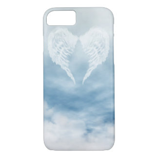 Angel Wings in Cloudy Blue Sky iPhone 8/7 Case